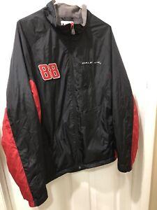 Dale Earnhardt Jr 88 Amp Energy National Guard Jacket Windbreaker Size XL