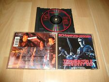 TERMINATOR 2 JUDGMENT DAY MUSIC CD MOTION PICTURE SOUNDTRACK SCHWARZENEGGER