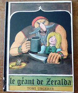 """Livre pour enfant """"LE GEANT de ZERALDA"""" (école des loisirs)"""