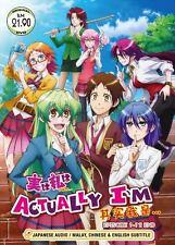 DVD JAPANESE ANIME Actually, I Am Vol.1-12End Jitsu wa Watashi wa English Sub