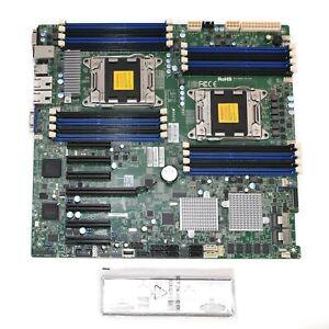 NEW SUPERMICRO X9DRH-7F E5-2650V2x2 w/CPU COOLERS 14x16GB PC3L-12800R RAM & MORE