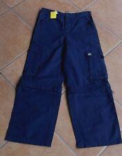 Zipp Cargohose Jungen von Dubbster  Gr 140 blau
