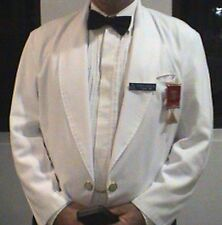 White Masonic Eton Jacket