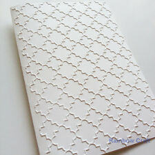 5 Embossed Cards & Envelopes Lattice Wedding invitations party invitations