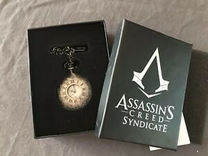 Assassins Creed Syndicate Pocket Watch (Rare Official Promotional Item)