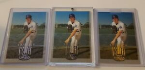 2002 Topps Gold Label Kazuhisa Ishii 3 Card RC Rainbow Lot /100 /250/500 Dodgers