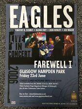 New listing Eagles- Concert Poster