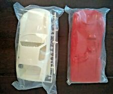 Lot of 2 Vintage Slot Car Bodies and Parts Sealed in Bags