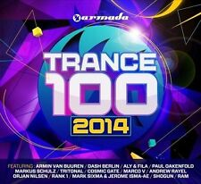 Trance 100: 2014 Armada Music 100 Tracks on 4xCD's New Sealed (Box C152)
