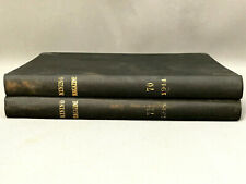 New listing 1944 The Mining Magazine Wwii-Era Bound - 2 Vols. London Vtg Mining Memorabilia