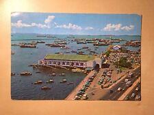 Singapore 15 Cent Rate Clifford Pier 1960's 1970s Postcard