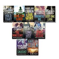 Harlan Coben Myron Bolitar series 10 books Collection Set New