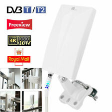1byone Antenna Indoor/Outdoor Aerial HD Digital TV Signal Amplified Booster HDTV