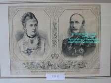 Original-Holzschnitte (1800-1899) aus Niederlande mit Porträt & Persönlichkeiten