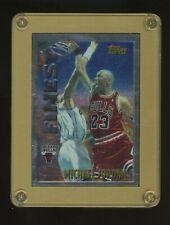 1996-97 Topps Finest Michael Jordan Chicago Bulls HOF