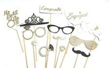 Photo Booth Props - Engagement Wedding Party Photo Booth Props x 13PC