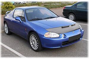 CAR HOOD BONNET BRA fit Honda CRX 3 Del Sol 1992-1998  NOSE FRONT END MASK
