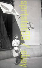 1950s Young Lady Posing Outside Lord & Taylor - California ?? - Vtg B&W Negative