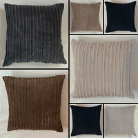 Handmade Jumbo Cord Cushion Cover Soft Feel Pillow Case Home Sofa Bed Decor