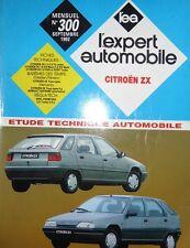 Revue technique CITROEN ZX 1.4 1.6 1.9 essence et diesel EXPERT N° 300 1992