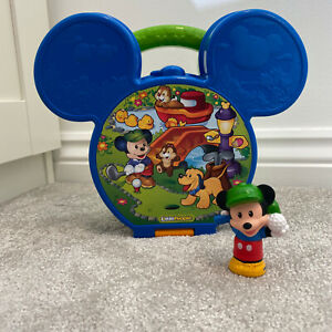 Disney Fisher-Price Little People Mickey Mouse Interactive Fold & Go Figure Toy