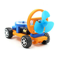 1X ASSEMBLY ELECTRIC RACING CAR SCIENCE EXPERIMENT DIY MODEL EDUCATION KIDS TOY
