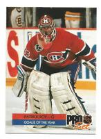 1992-93 Pro Set #2 Patrick Roy Montreal Canadiens