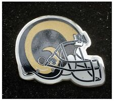 Los Angeles Rams NFL Team American Football Helmet Pin Badge