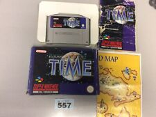 super nintendo Illusion Of Time Manual As Shown On Picture