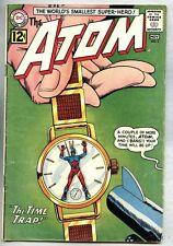 Atom #3-1962 vg/fn 1st Chronos / 1st Timepool story