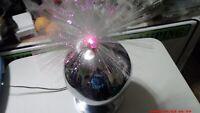 Vintage Fantasia Products Lamp Fiber Optic Rotating, Model 4002 CENTURION