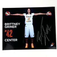 WNBA Autograph #42 Brittney Griner Phoenix Mercury Signed Photo Photograph