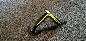 Giant neon yellow proway lightweight bottle cage Rrp £12