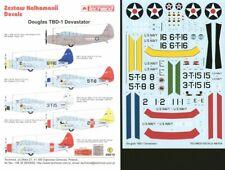 Techmod Decals 1/48 Douglas TBD-1 'Devastator' Pre War # 48810