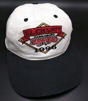 Vintage HARRISBURG SENATORS 1996 EASTERN LEAGUE CHAMPS white / black  cap / hat