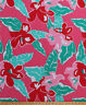 """60"""" Tropical Hawaiian Flowers Floral Hibiscus Pink Cotton Fabric Print D256.02"""