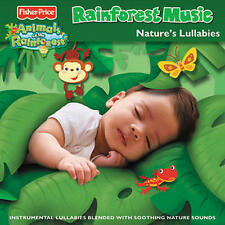 Fisher-Price Rainforest Music Nature`s Lullabies CD NEW