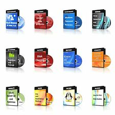 Partition, Format, Clone, Erase, Recover Any Size Hard Drive - 12 CDs in 1 DVD