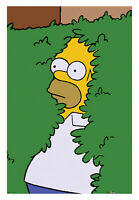 Homer in Bush The Simpsons Poster 24 x 36 Meme Officially Licensed Flanders Gift