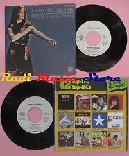 LP 45 7'' EMMYLOU HARRIS Mister sandman Ashes by now 1981 germany WB cd mc dvd