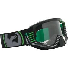 DRAGON VENDETTA LINEAR GREEN GOGGLES WITH CLEAR AFT LENS