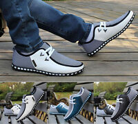 Men's Smart Casual Fashion Shoes Breathable Recreational Sneakers Walking Shoe