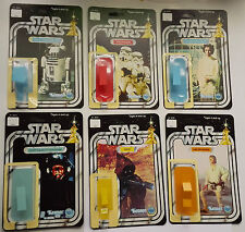 FIRST 21  KENNER  VINTAGE STAR WARS RESTORATION KITS SHOP STORE DISPLAY CARDBACK