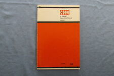 J. I. Case D Tractor Operators Manual # Rac 9-271 Models Dc3 Dc4 Ds and Do