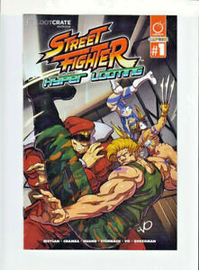 """Street Fighter """"Hyper Looting"""" Udon Capcom #1 Lootcrate Exclusive Nov 2015"""