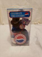 2000 LIL LEAGUER #4886 PEPSI CENTURY BEAR KEEPER Plush Toy