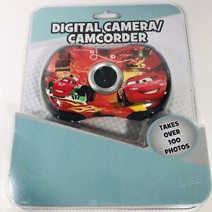 SAKAR Disney Pixar Cars Digital Camera / Camcorder w/ Software Lightning McQueen