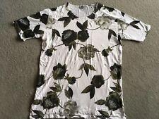 Olsen Damen T-Shirt Hemd Shirt Gr. 42 weiß/ Grün neuwertig