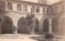 SAINTE-ROSELINE - Ancien cloître restauré, vu du Sud