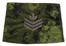 Obsolete Modern Canadian Army CADPAT Unfinished Sergeant Epaulette